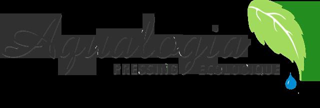 Logo Aqualogia - Franchise pressing ecologique